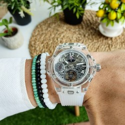 HUBLOT UNİCO SHAPPHİRE TOURBİLLON
